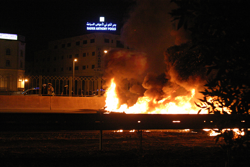 Fire On The Highway Bahrain.jpg