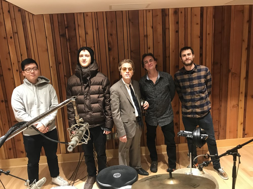 Tracking Joel Ronson's EP at Sound on Sound