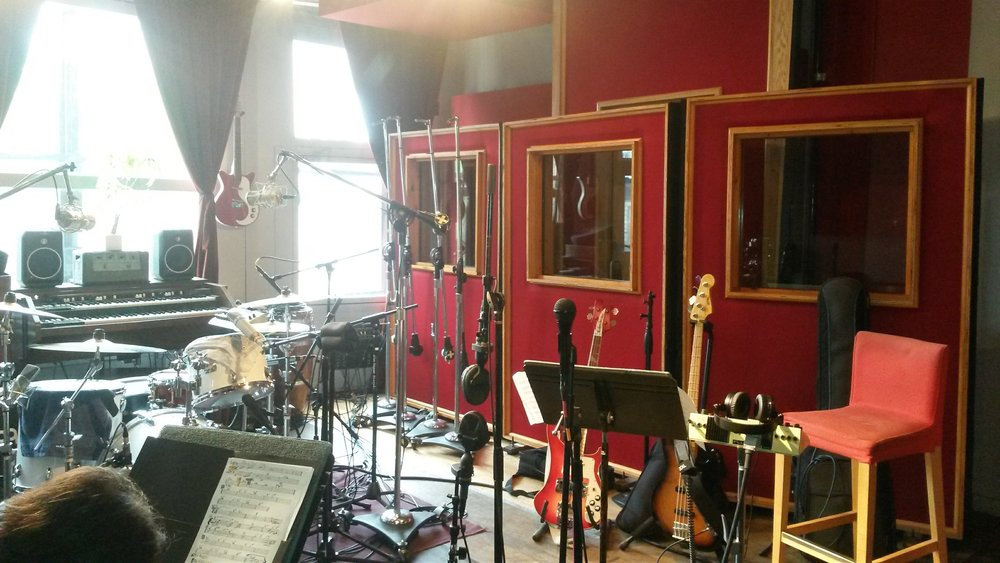Tracking at Flux Studios