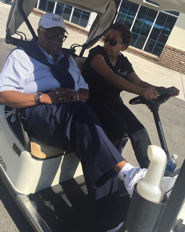 #LifeAtTheCouncil. Driving the #president around. @13th Annual Supplier Business Conference off to an awesome start! . . #WeAreCVMSDC #golftournament #cvmsdc #nmsdc #sonoco #annual #corporatemember #supplierdiversity #minority #golf #countryclubofsouthcarolina #countryclub #florence #southcarolina #golfing #WeAreNMSDC #partnership #minorityowned #entrepreneur