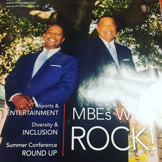 Look who's on this months cover... . . . #supplieroftheyear #MBE #minoritybusiness #minoritybusinessowner #minorityowned #CEO #President #MBEsWhoRock #lifeatthecouncil #nonprofit #WeAreCVMSDC #diversity diversity matters