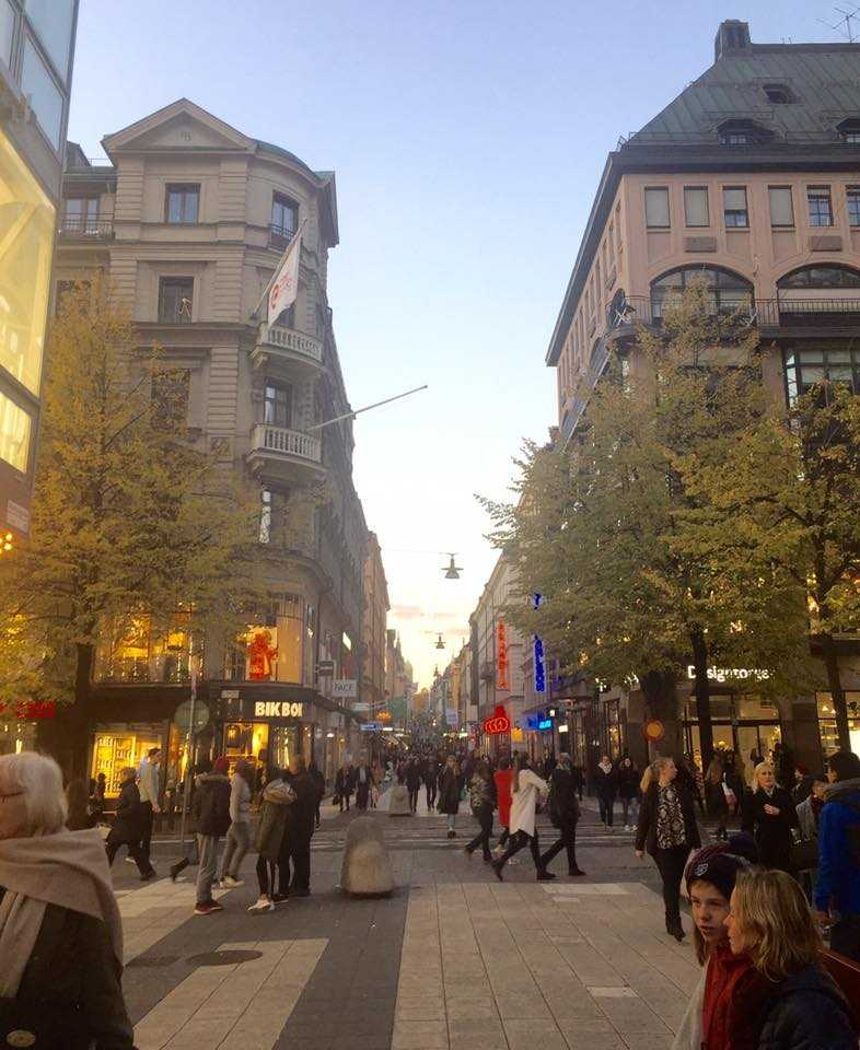 Stockholm city center