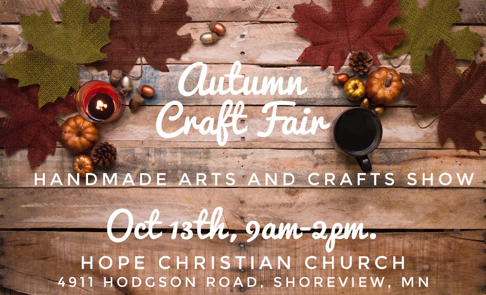 4th Annual Autumn Craft Fair