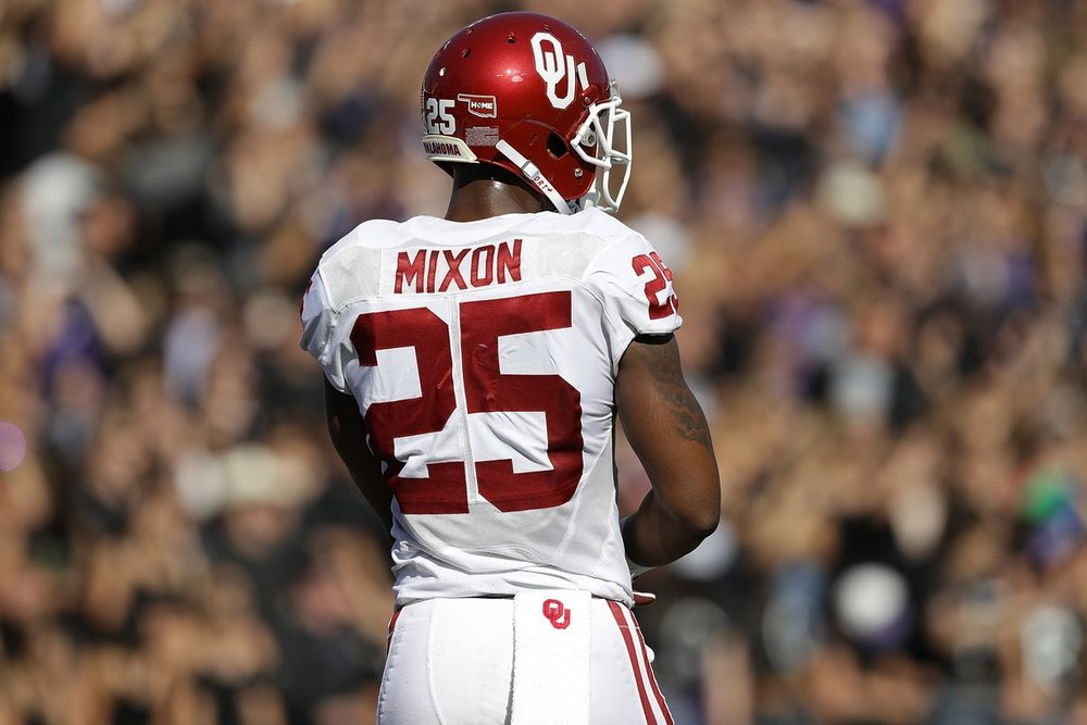 Oklahoma Running Back Joe Mixon's entry to the NFL has been marred by off the field issues
