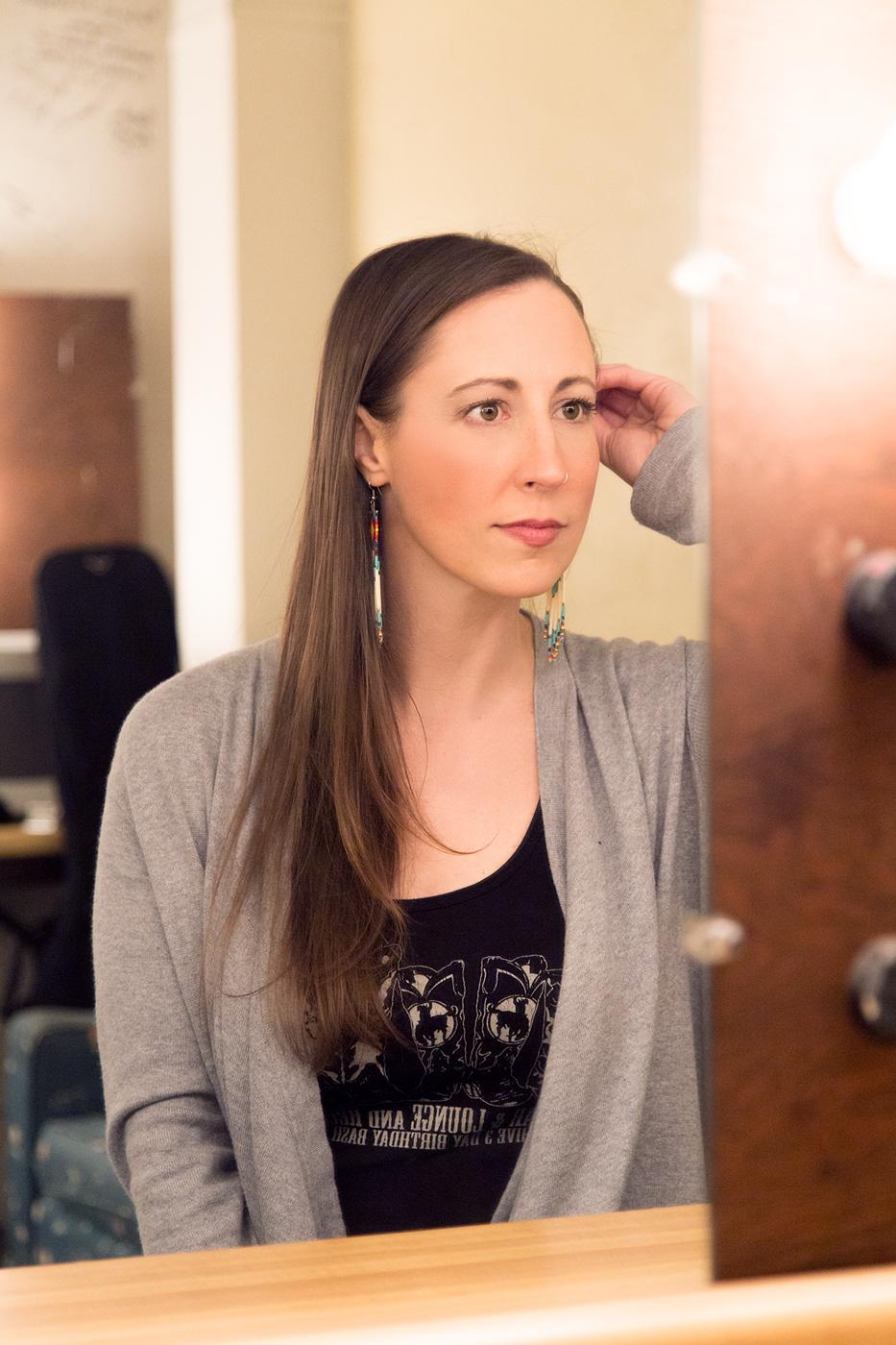 Katie Powderly Backstage