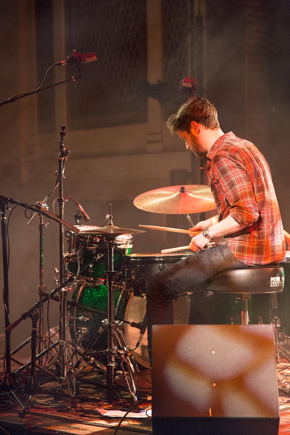 Kevin Etzler Drumming at the Weinberg Center