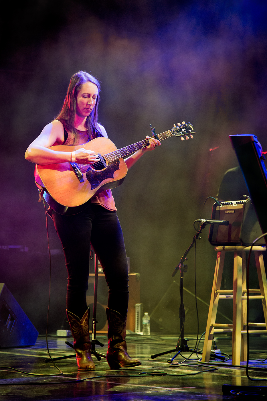 Katie Powderly with Gibson Guitar