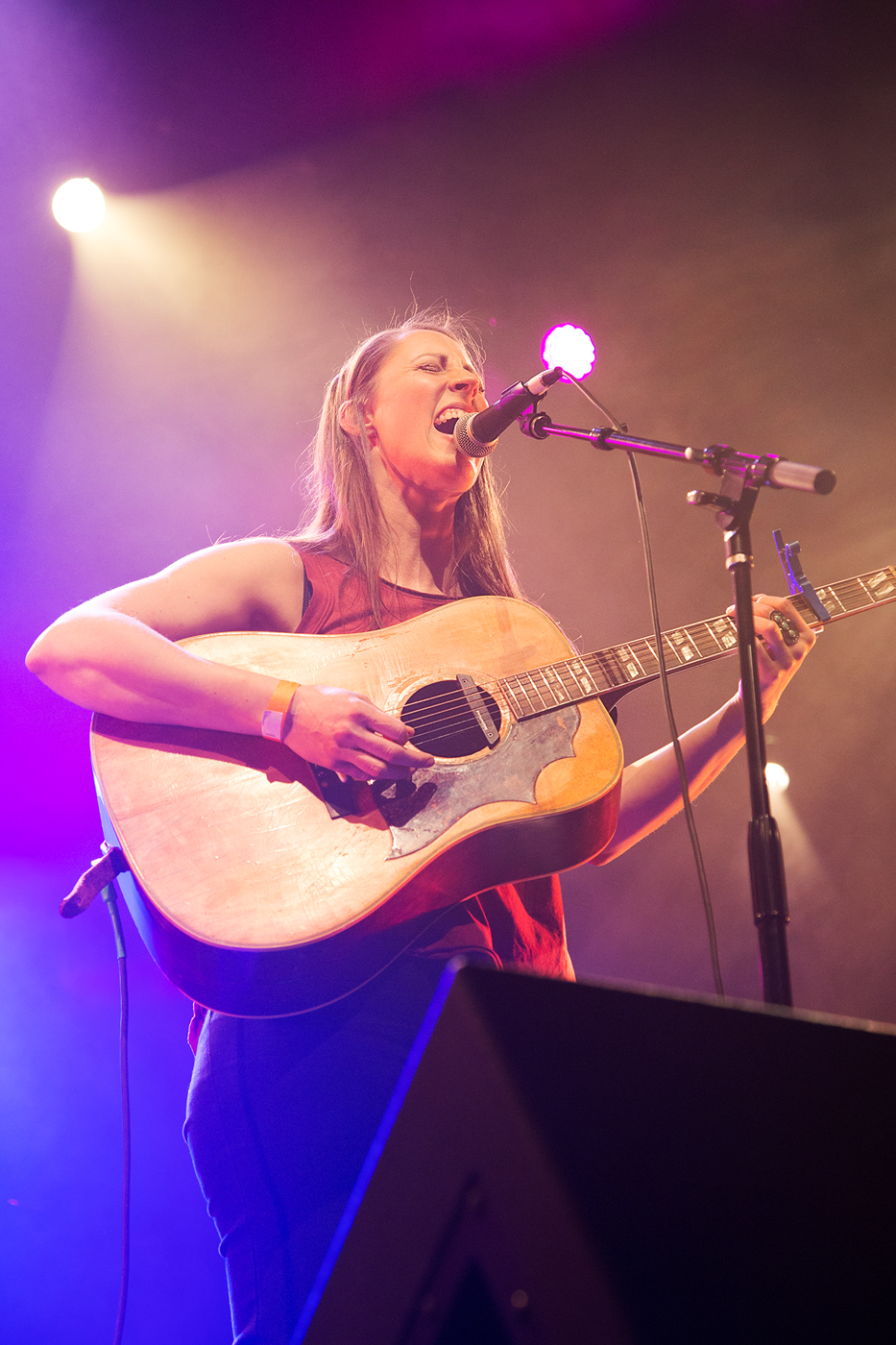Katie Powderly Playing Guitar