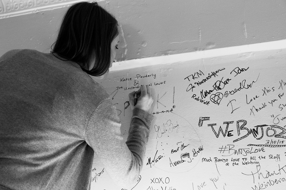Katie Powderly Signing Wall
