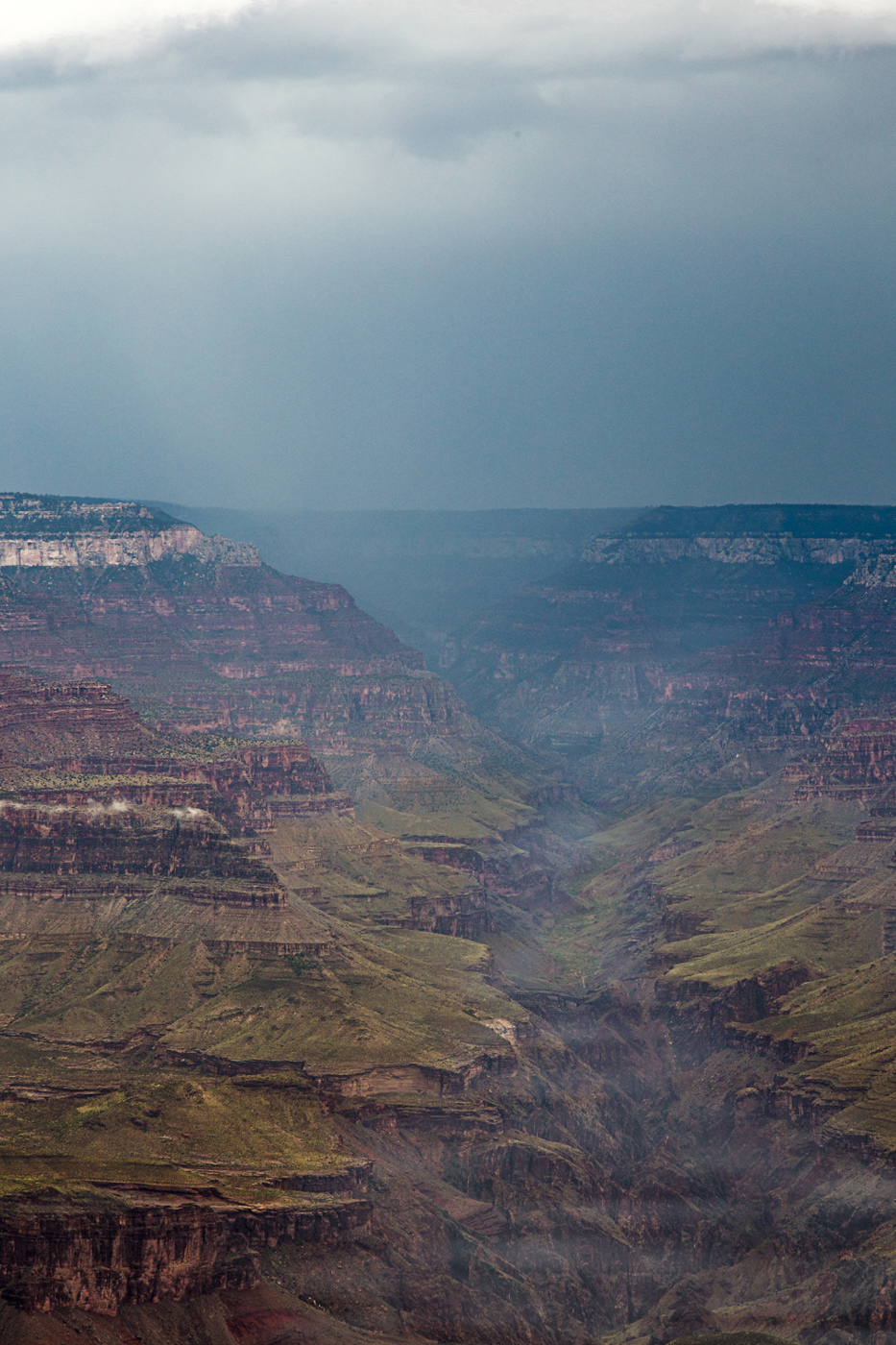 Grand Canyon After Fall Thunderstorm
