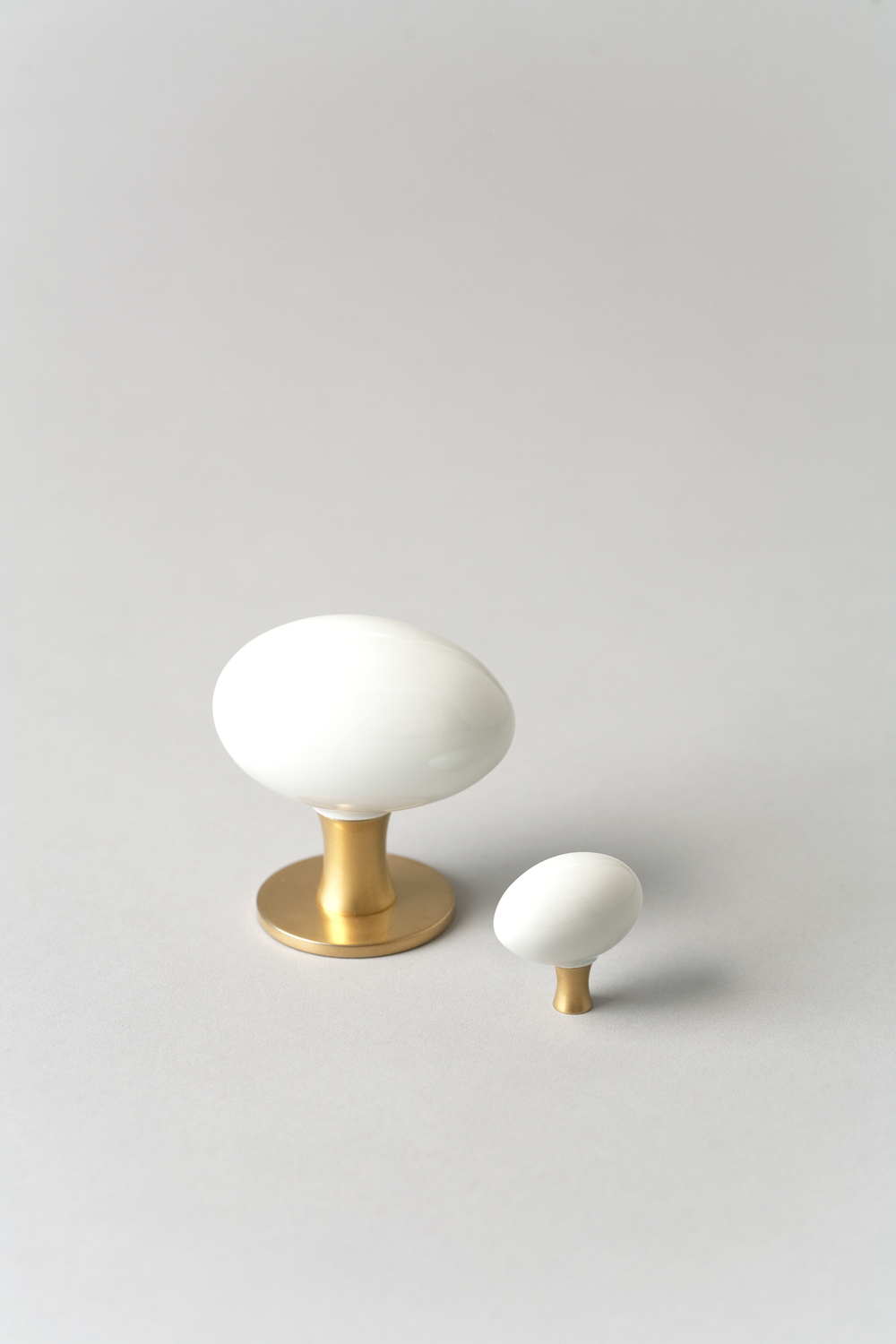 Egg Doorknobs Porcelain