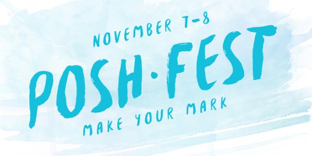 Poshfest2015 I am going