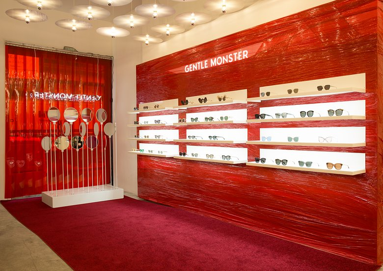 Gentle Monster's pop-up space at Opening Ceremony. Photo: Courtesy of Gentle Monster