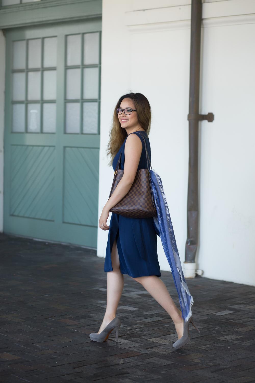 Dress:Asos Soft Wrap Pencil Dress with D-Ring