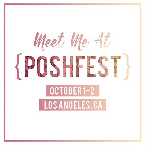 What to Wear to PoshFest 2016 || Cubicle Chic