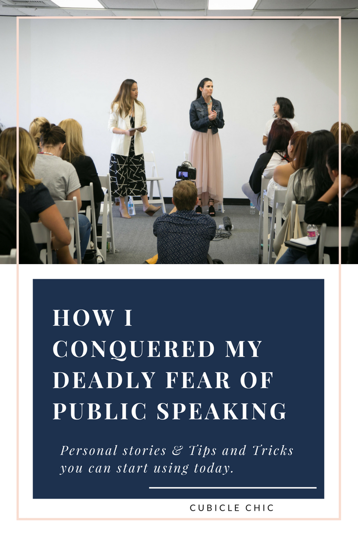 Cubicle Chic || How I Conquered My Deadly Fear In Public Speaking