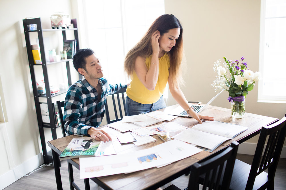 Engagement Shoot: What It's Like To Be Planning A Wedding