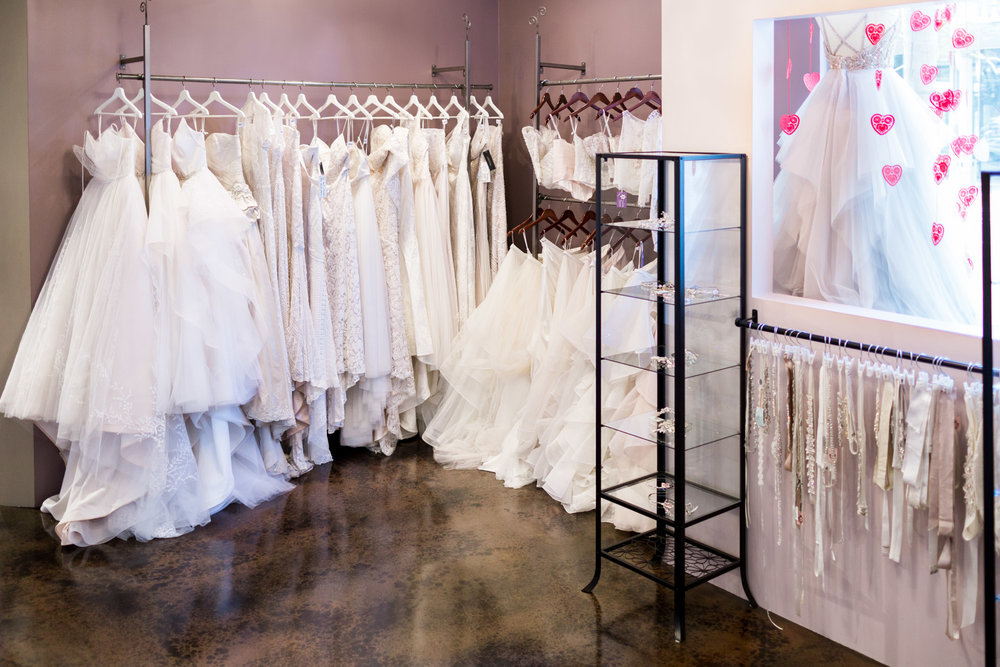 The White Flower Bridal Boutique in San Diego, CA