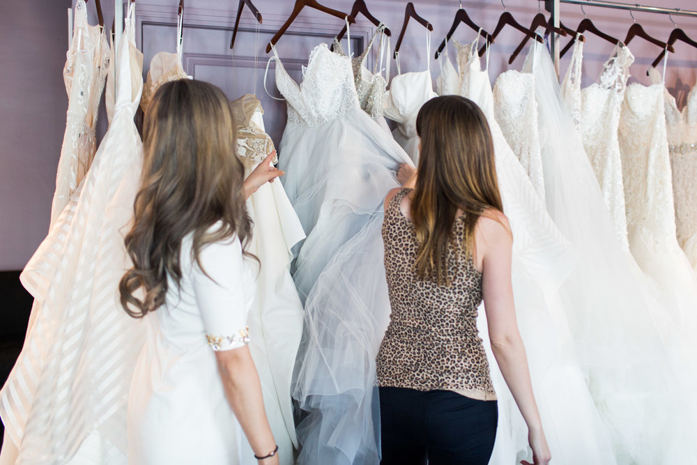 A Fashion Blogger's Perspectives on Wedding Gowns Trying-On