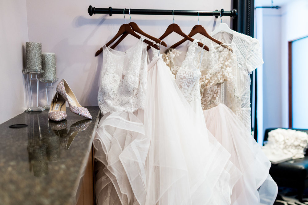 A Fashion Blogger's Perspectives on Wedding Gowns Trying-On || Wedding Shoes Jimmy Choo