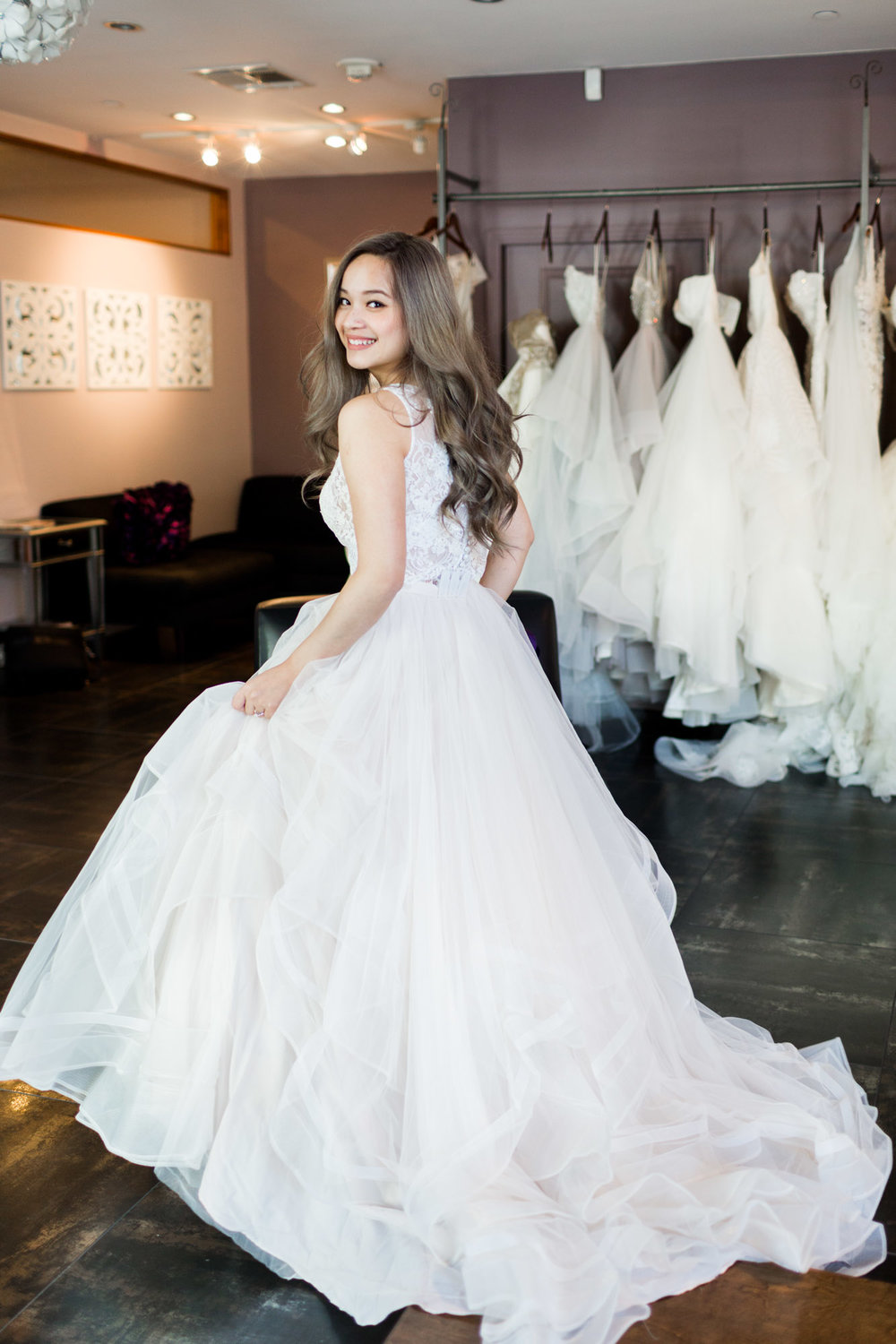 A Fashion Blogger's Perspectives on Wedding Gowns Trying-On || Essence Of Australia 2292