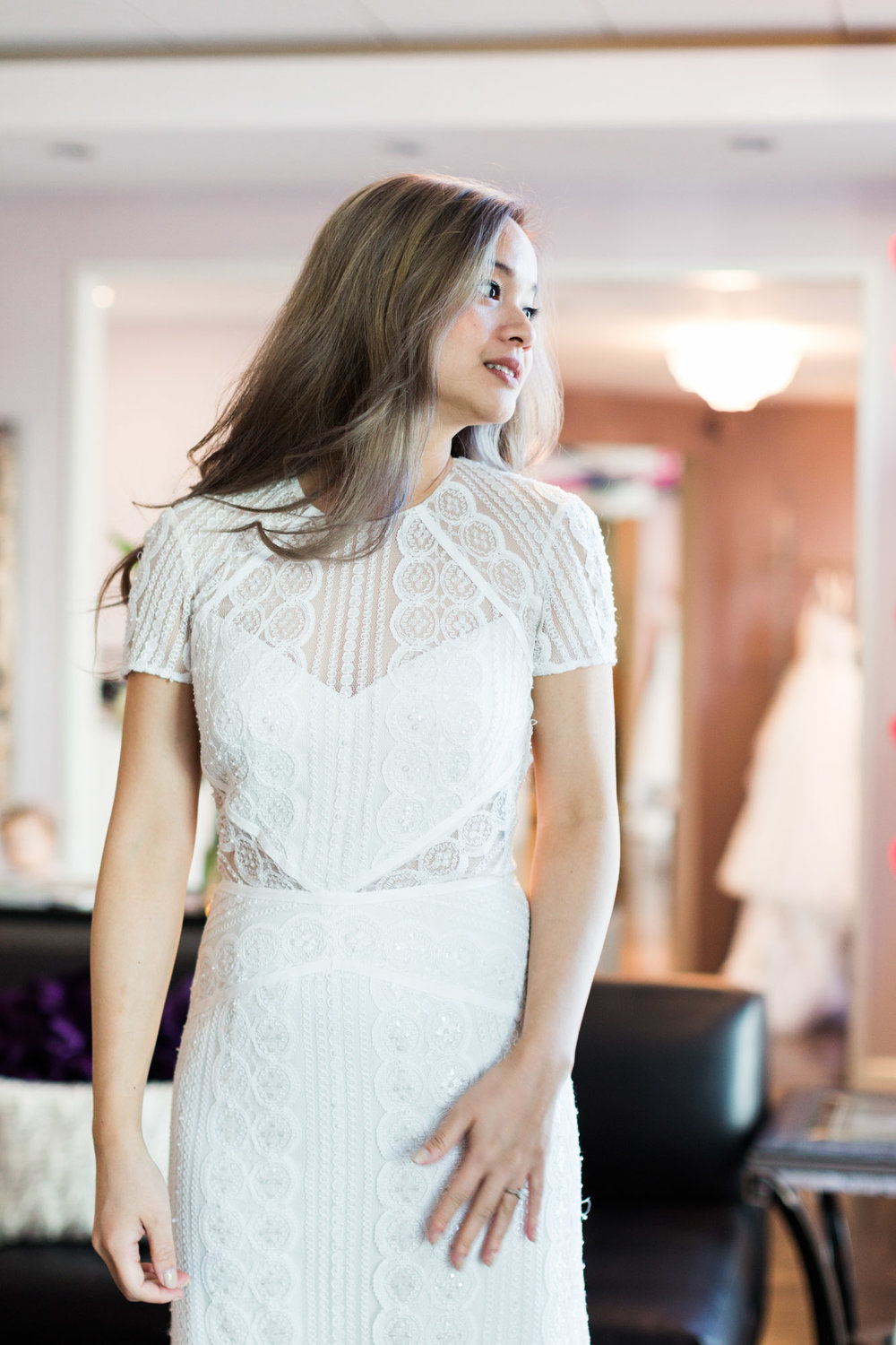 A Fashion Blogger's Perspectives on Wedding Gowns Trying-On ||  Wtoo- Lenora