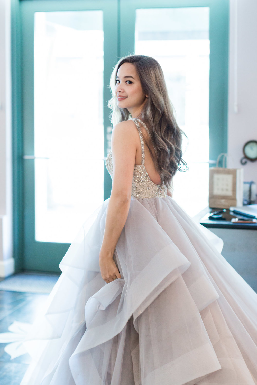 Me, in Hayley Paige Dori Gown <3