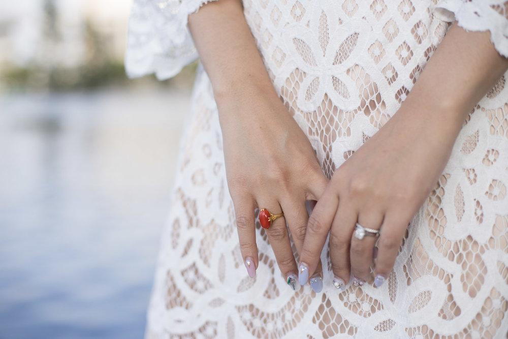 Wedding Rehearsal Dinner Dress || Eliza J Fit and Flare Dress