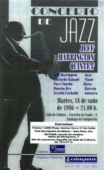 Jeff Harrington Quintet, Santiago de Compestela, Spain