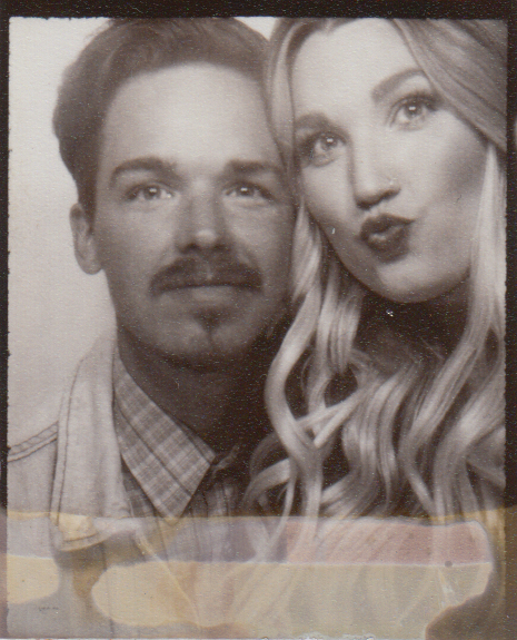 Photo booth traditions with my gorgeous wife.