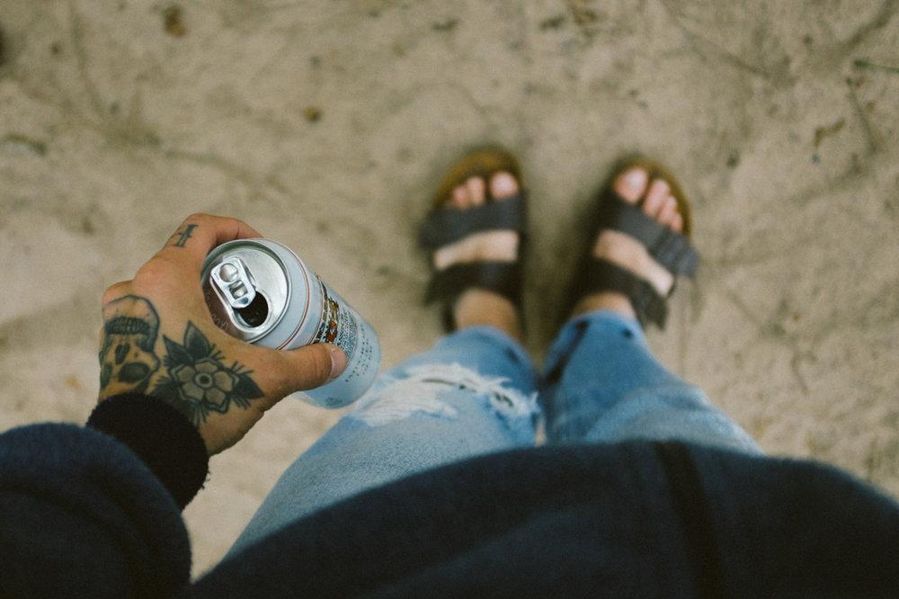 Summer camping attire