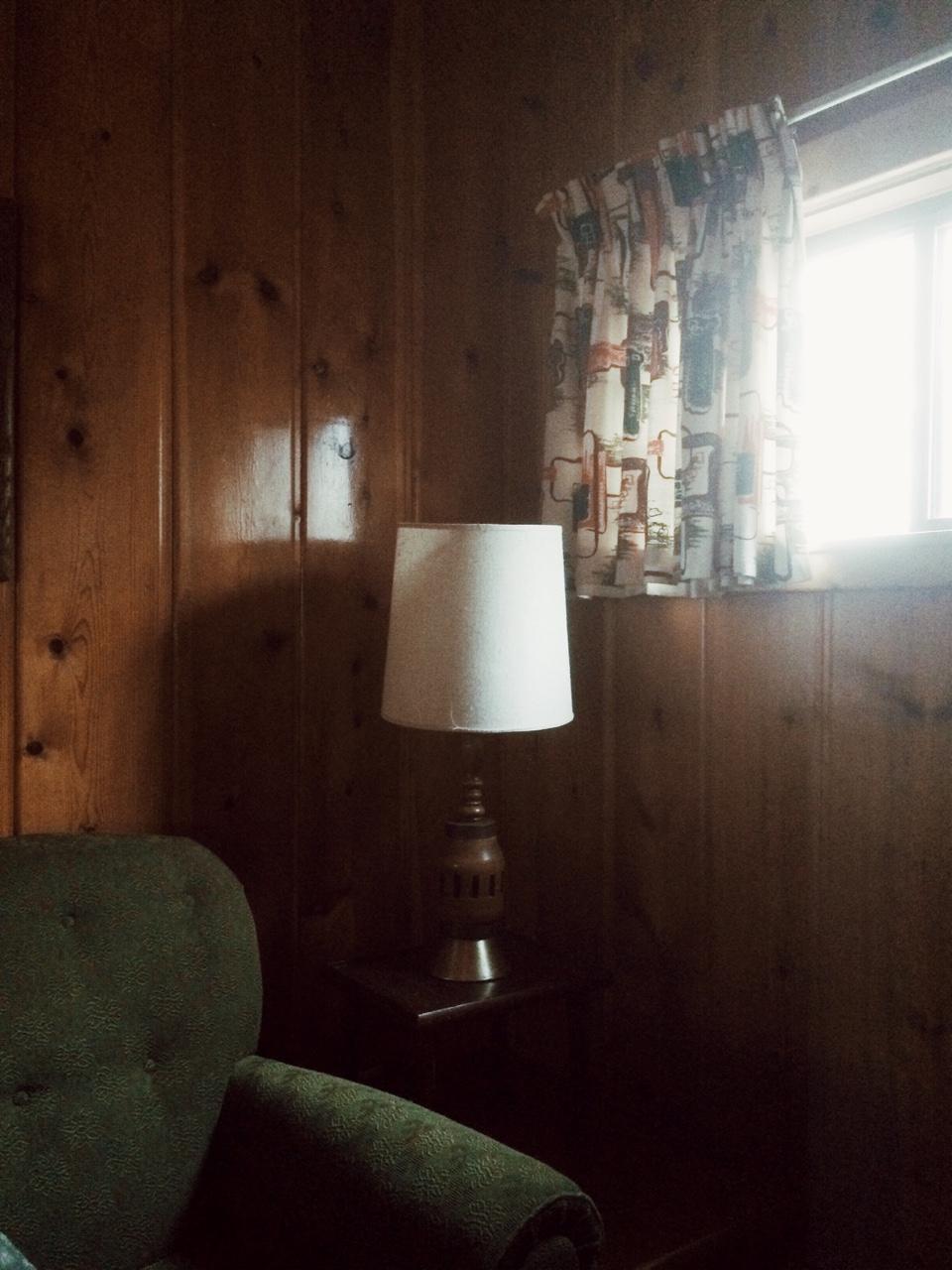 Cabin corner by Lon