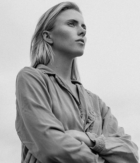 """The Aviator"" by  Lon.    Model: Silja Danielsen   Hair/Makeup: Shyn Midili"