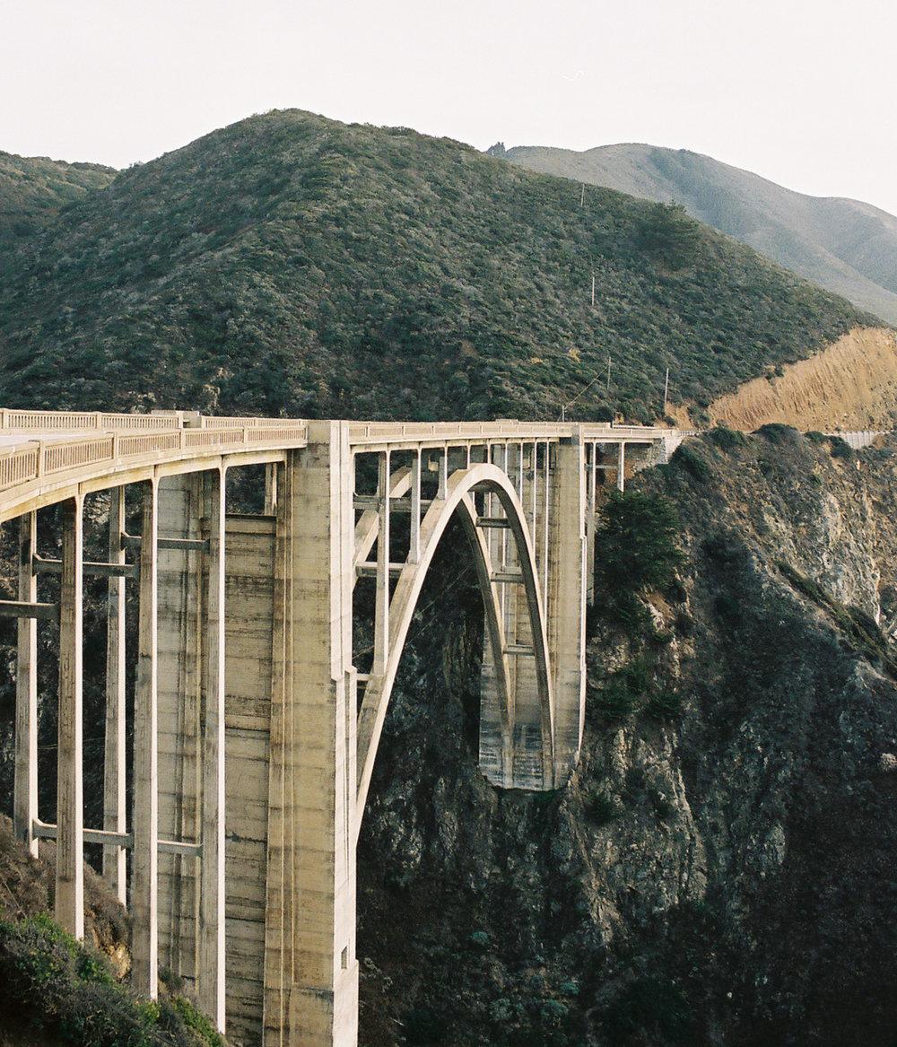 Bixby Bridge, Big Sur, CA by  Lon.