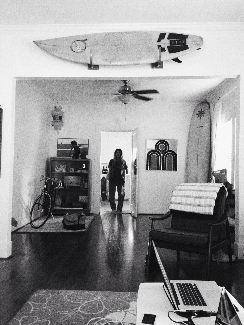 Brandi  at her home in Texas by  Lon .