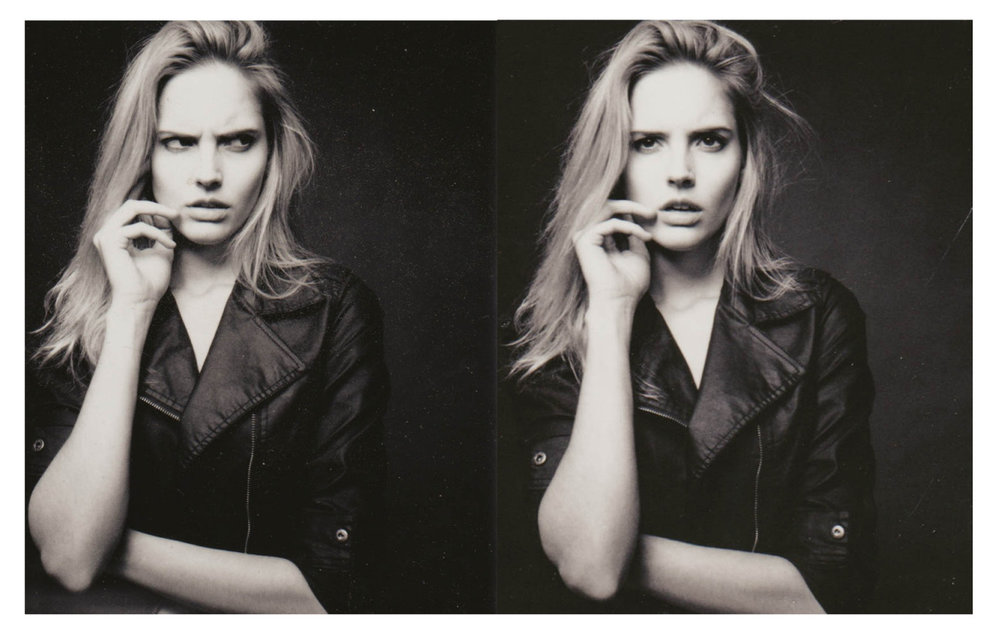 Polaroid Outtakes with Katja by  Lon.