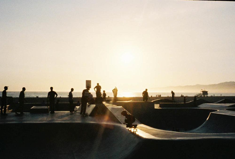 Venice beach skate park by  Lon.