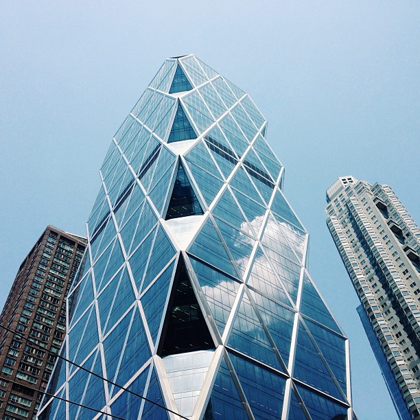 My favorite Architect, Norman Foster's, building in New York City. What a brilliant man.
