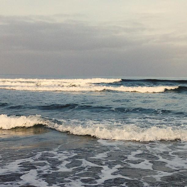 Sunset walk  (at Pacific Beach, Ca)