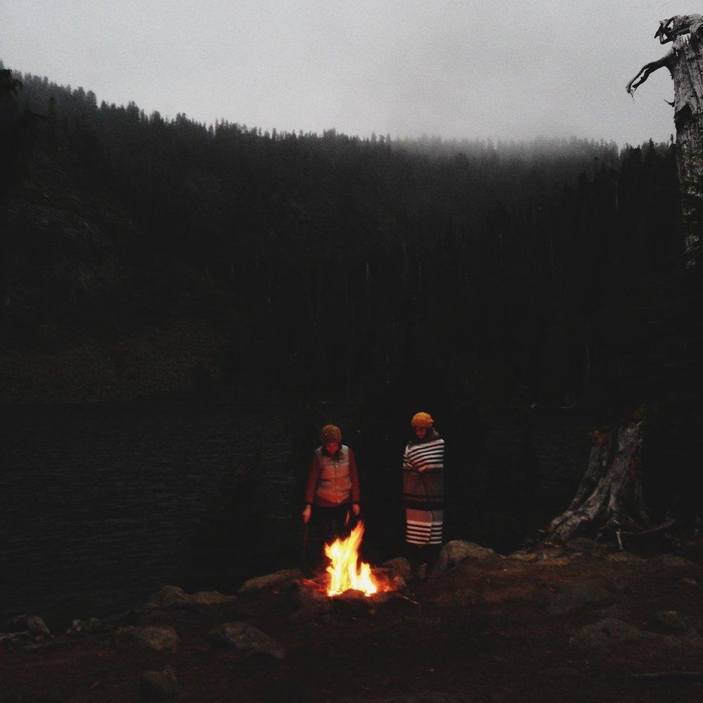 ©  Lonnie Webb    Early Fall bonfire ( taken with instagram )