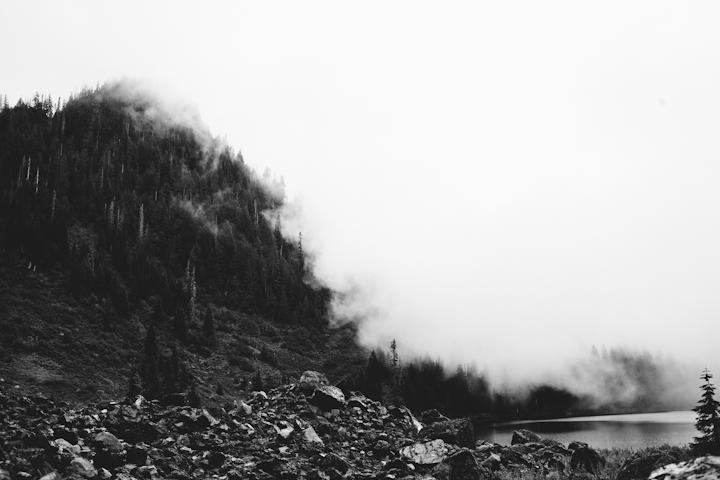 © Lonnie Webb      Beautiful Fog on last weeks hike