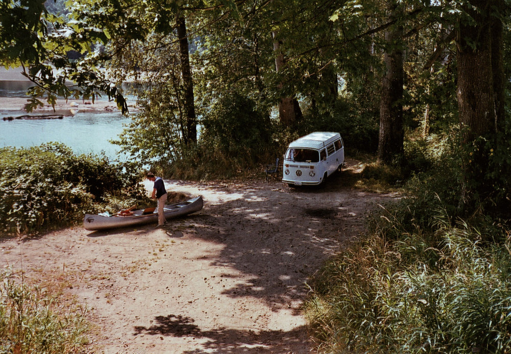 ©LONNIE WEBB    Perfect spot by the river