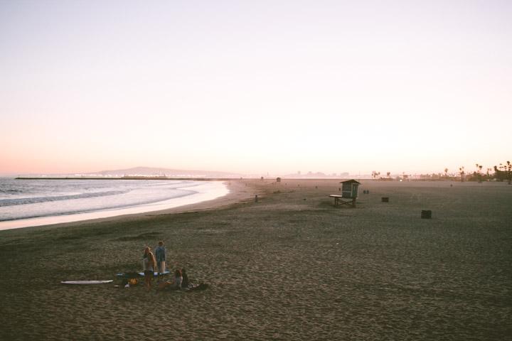 ©  Lonnie Webb    Summer evening at the beach