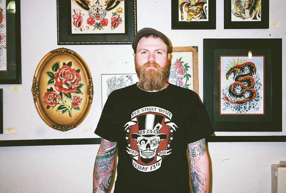 ©  Lonnie Webb    Seattle, Wa   My tattoo artist, Matt Lentz.