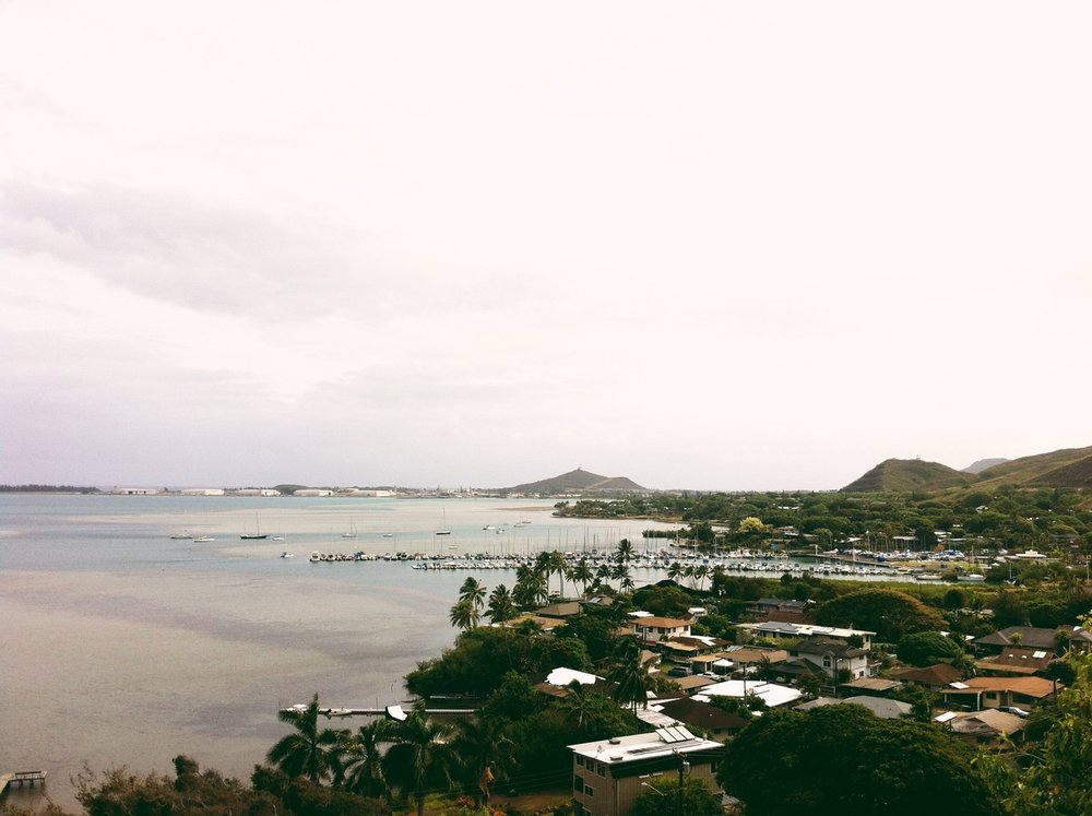 ©  Lonnie Webb    The view from our place in Hawaii