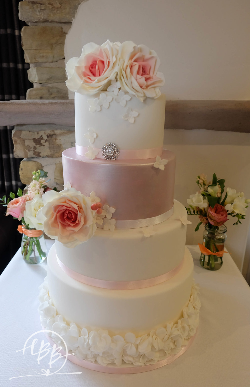 Hyde Bank Farm Sugar Flower Ruffle Wedding Cake.jpg