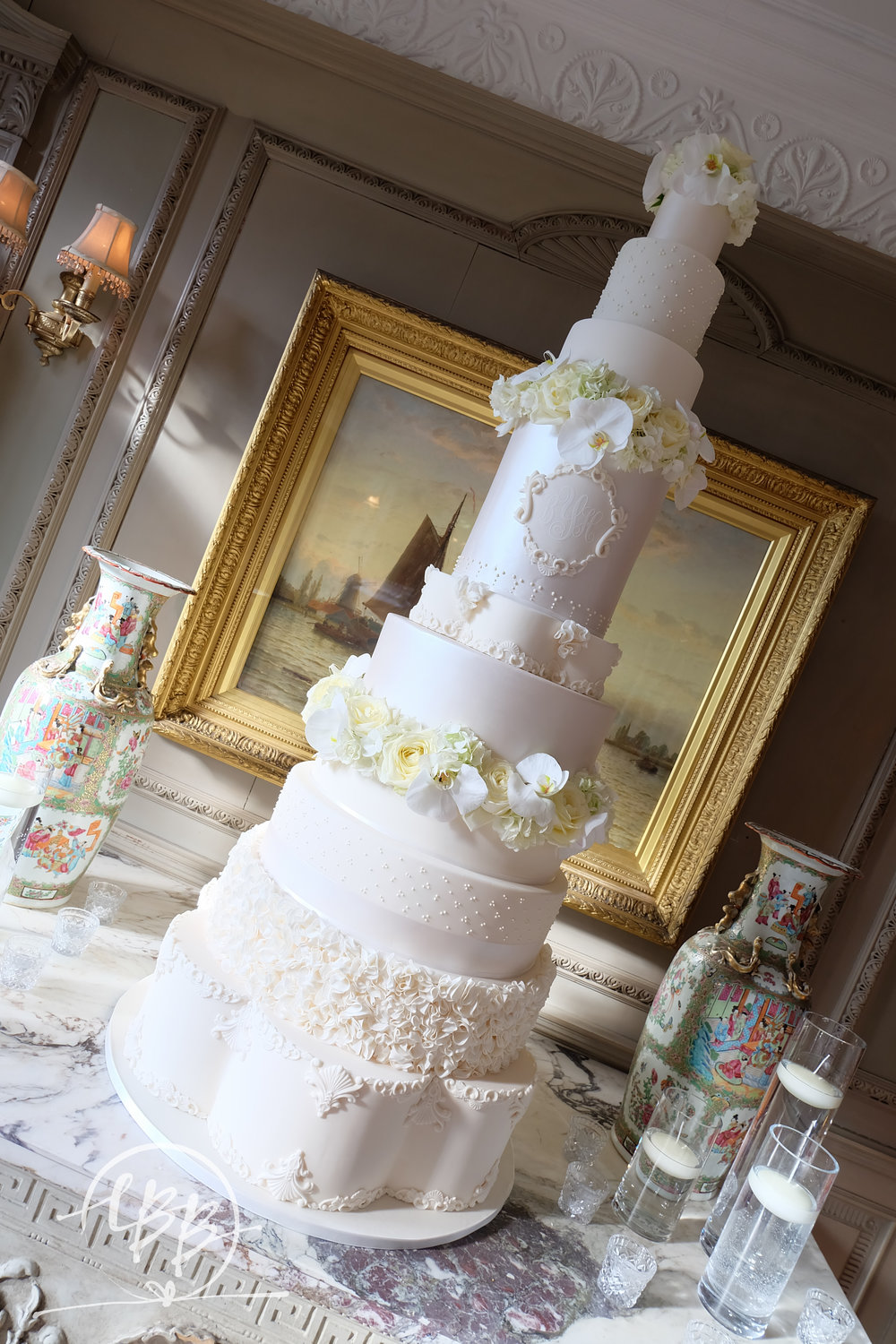 Thornton Manor Ten Tier Wedding Cake.jpg