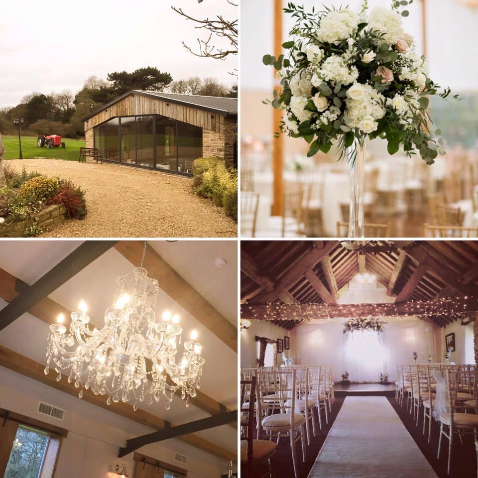 Hyde Bank Farm Gorgeous Cheshire Farm wedding venue