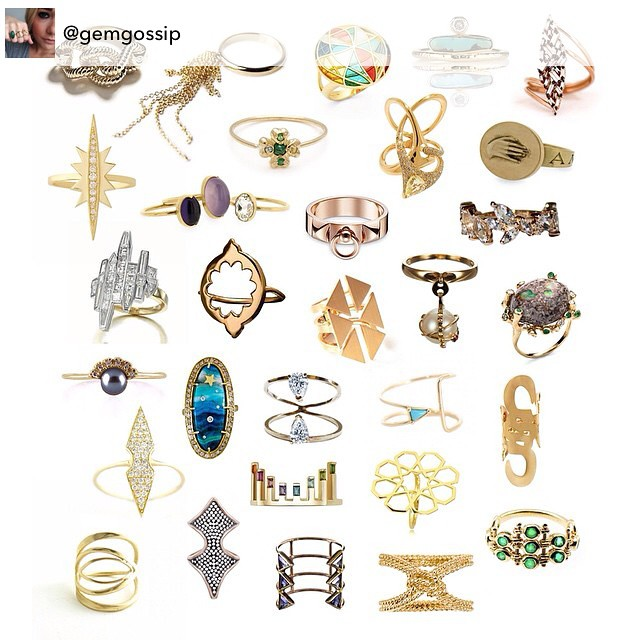 Thank you so much Gem Gossip for featuring my all gold Marquise Ring (bottom left corner) among so many talented artists! Check out her post on GemGossip.com. You can find it at Zaver and Mor! #lovegold #AmericanMade