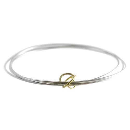 bangle plated gold plain index bangles bracelet seviljewelry